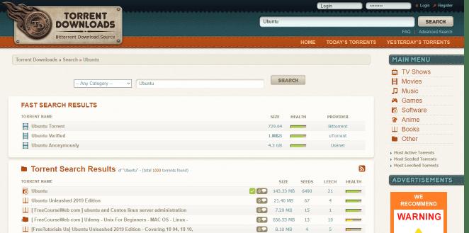 Melhores sites de torrent torrentdownloads.me