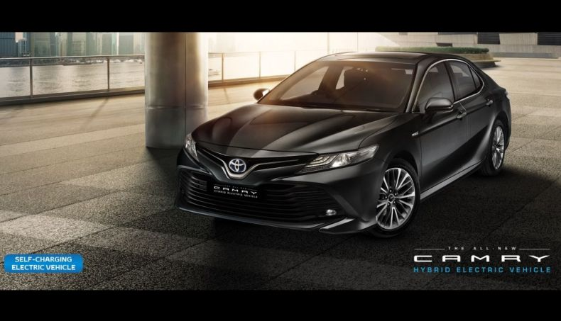 Toyota Camry Hybrid_ Best hybrid cars