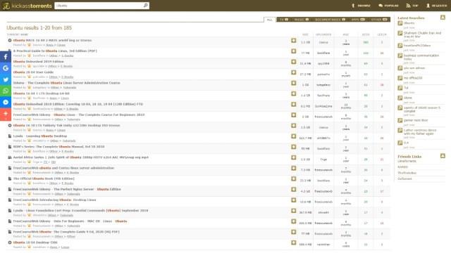 Best torrent websites kickasstorrents.to