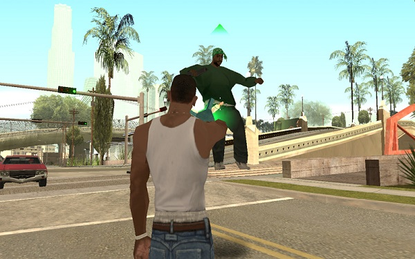 GTA San Andreas Gravity Gun mod
