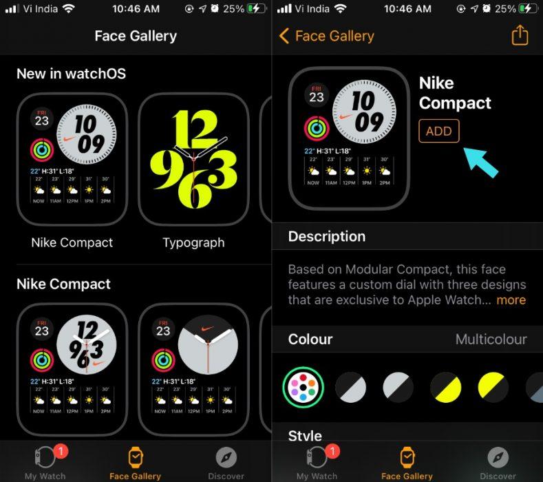 2 Set Apple Watch Face iPhone