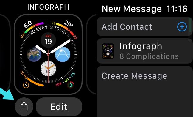 5 Share an Apple Watch Face