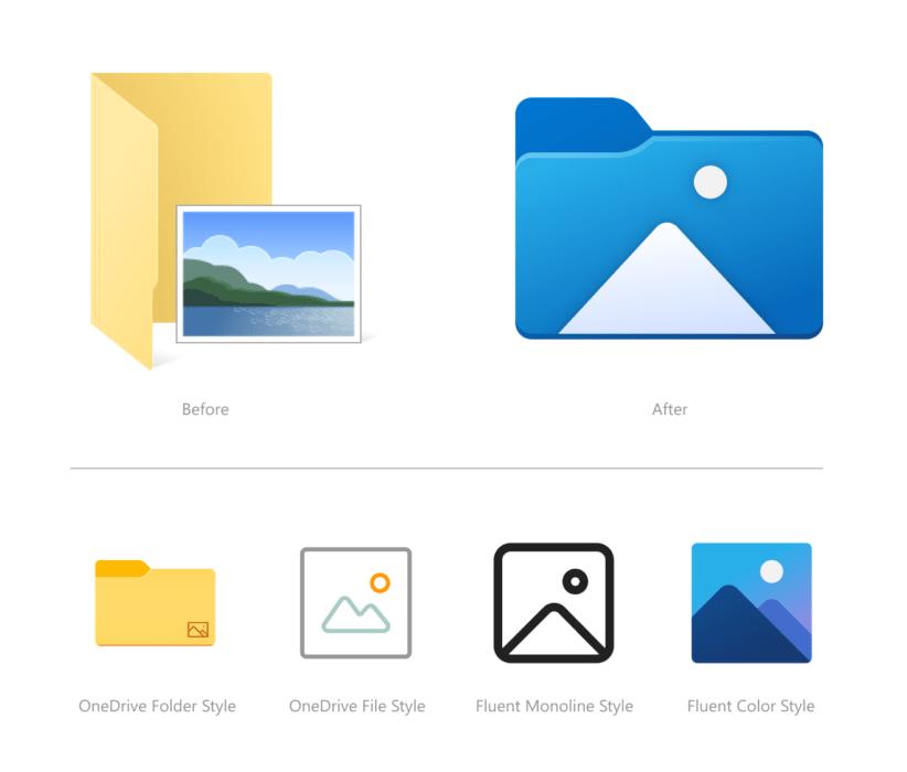 Keranjang Sampah Ikon Baru Windows 10