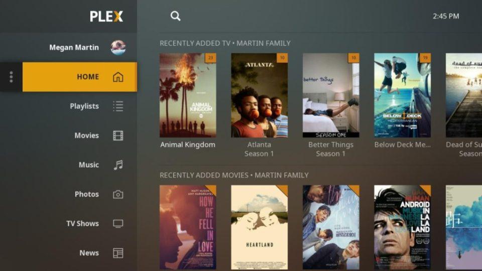 Plex di Android TV (1)