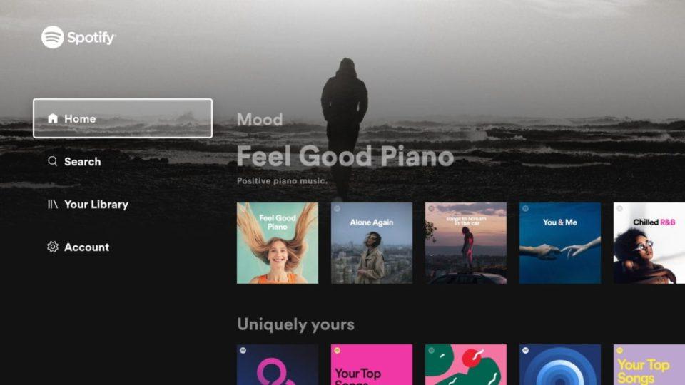aplikasi Android terbaik spotify TV