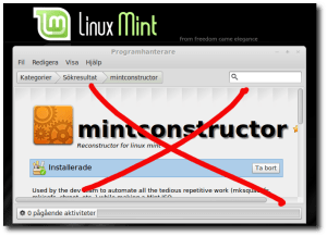 Mintconstructor Xed out