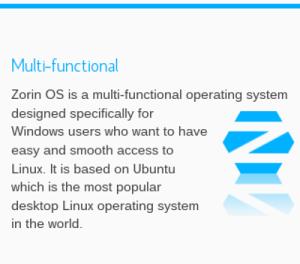 Zorin Linux