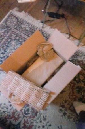 Symple PC shipping box