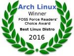 Arch Linux Best Linux Distro 2016
