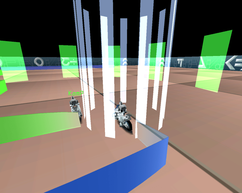 Armagetron Advanced - a 3D Tron lightcycle free racing game