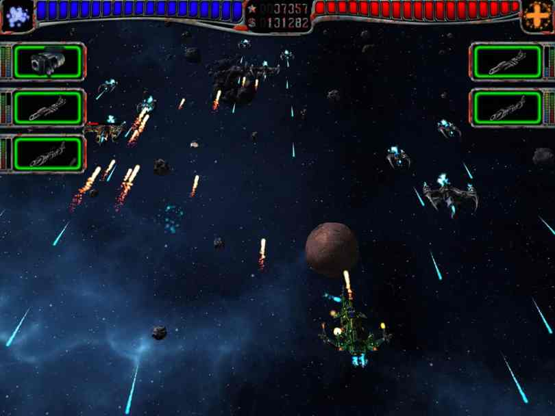 AstroMenace - Free 3D Space Shooter PC Game
