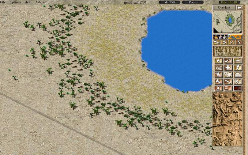 Caesaria - a Free City Building and Economic Simulation Game, remake of Caesar III