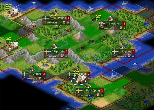 FreeCiv - Free Turn Based Strategy Games Civilization II Clone