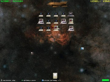 MicroWar - an Arcade Space Invaders Style Game