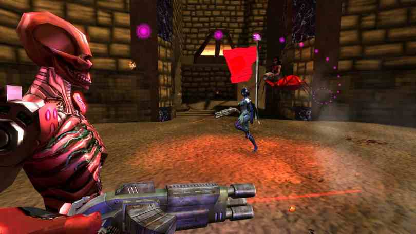 OpenArena - Free Open Source FPS Game a Clone from Quake III