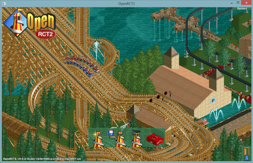 OpenRTC2 - Free Tycoon Game, Open Source Version of RollerCoaster Tycoon 2