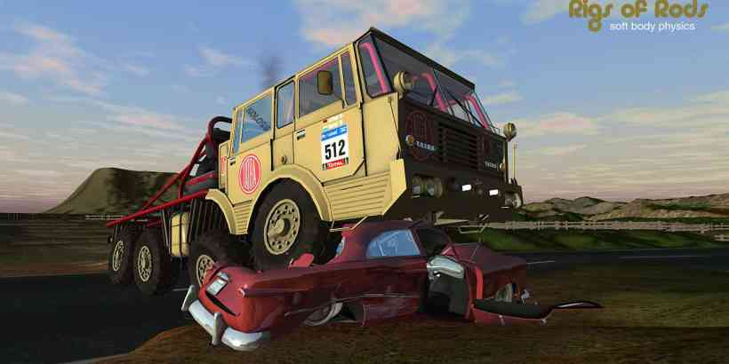Rigs of Rods free and open source truck physics simulation game
