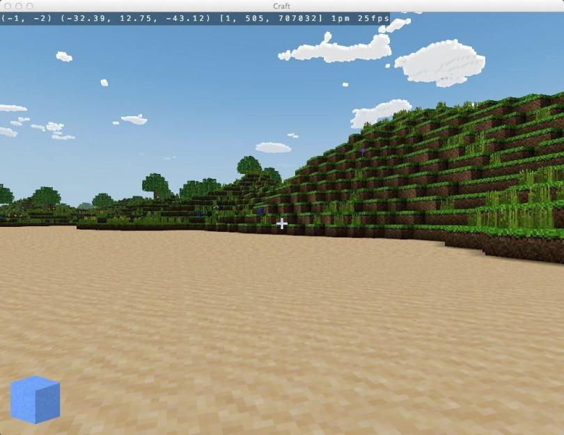 Craft - a Free Sandbox Minecraft Clone Game