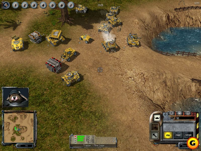 Strategic Warfare In a Nifty Environment or S.W.I.N.E. - a Free Real Tactics Strategy Game