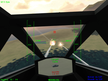 Thunder and Lightning a Futuristic Action Flight Simulator RTS Game2