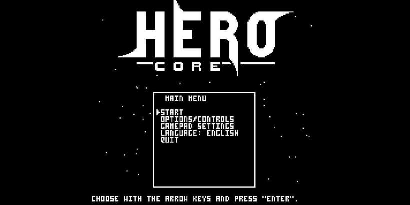 Hero Core - Free Download shooter game with Metroidvania elements