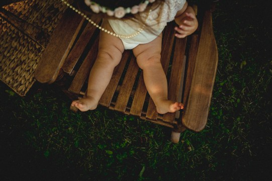 Fossil Photography- Everly one year-13
