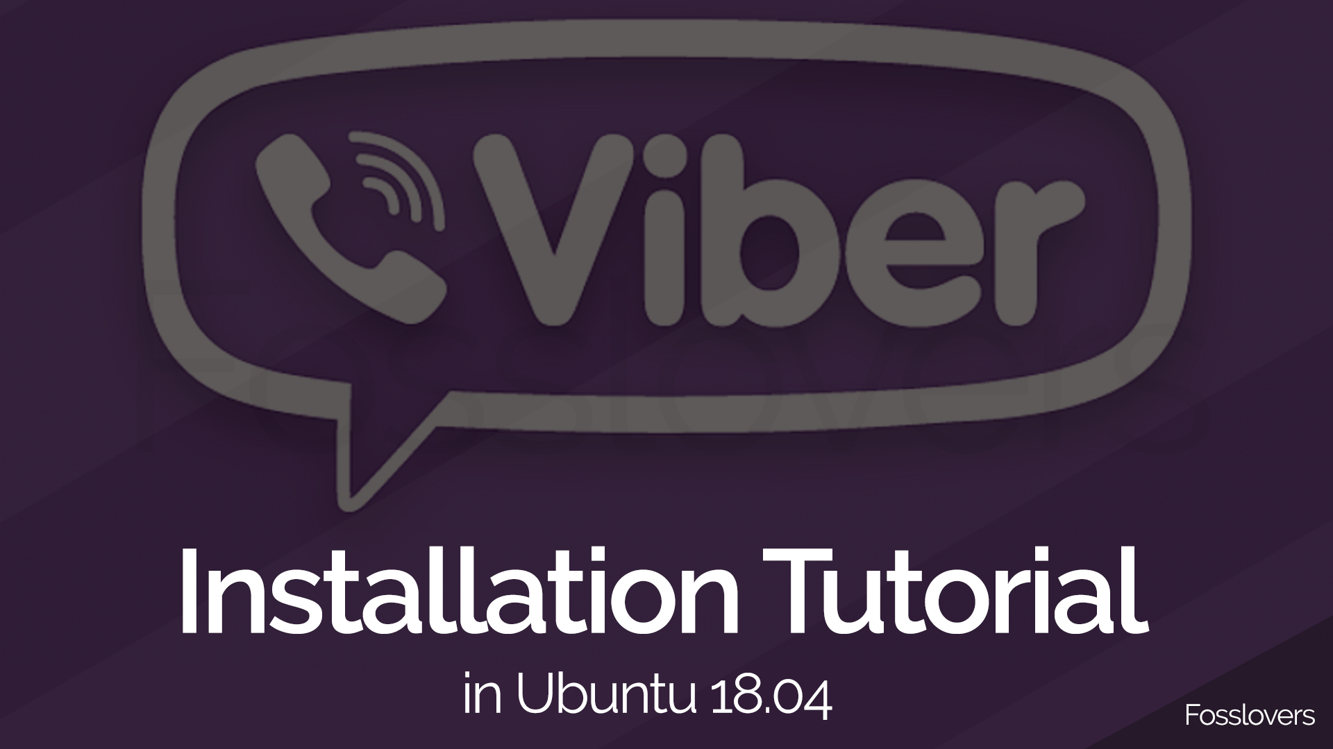 How to Install Viber Desktop on Ubuntu 18 04 Bionic Beaver