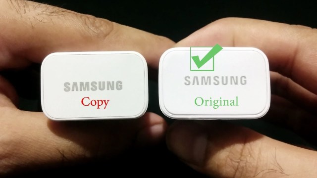 fake and branded chargers