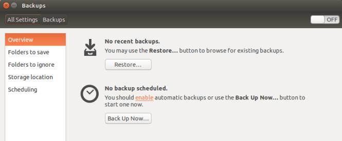 ubuntu backup1 app