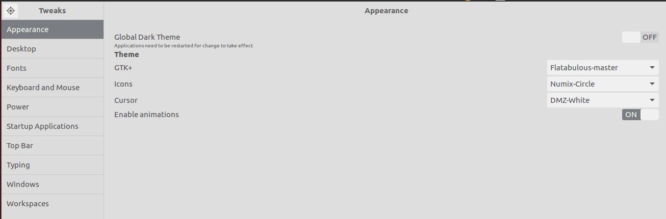 Tweaking Desktop settings in Ubuntu Linux with powerful GUI