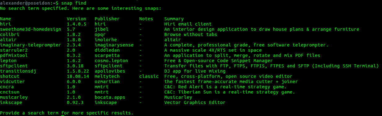 How to Install and Use Snap Applications in Linux - DEV