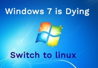 windows 7 dying banner