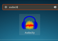 audacity application dashboard