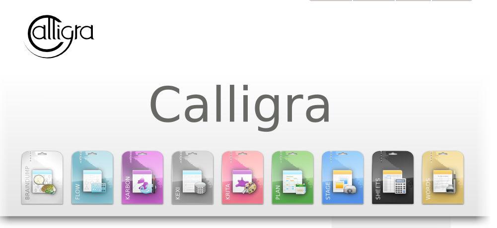 Calligra Office Screenshot