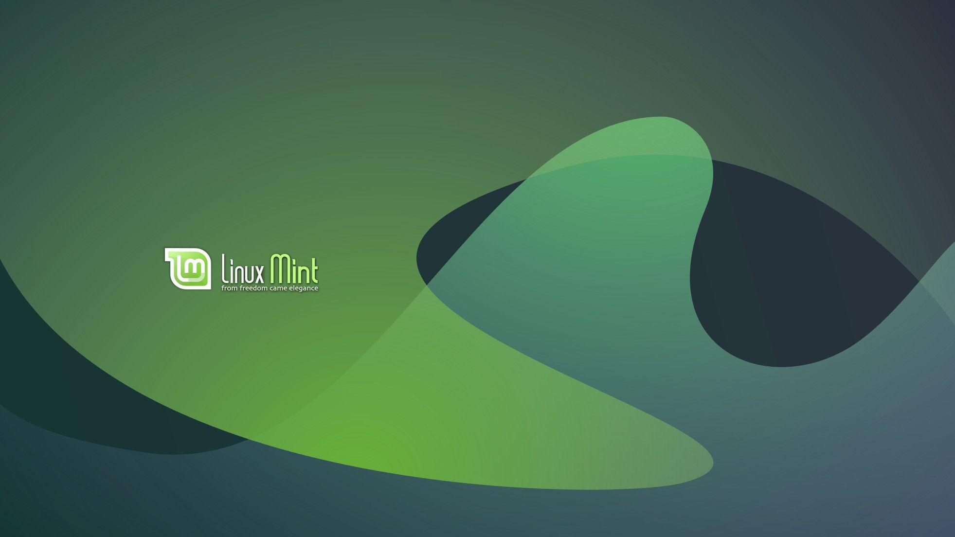 Mint Linux Wallpaper Screenshot