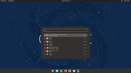 POP OS 21.04 Cosmic Screenshot