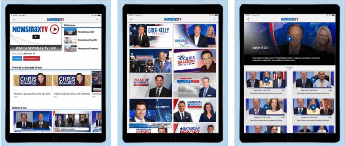 Newsmax TV app PC download