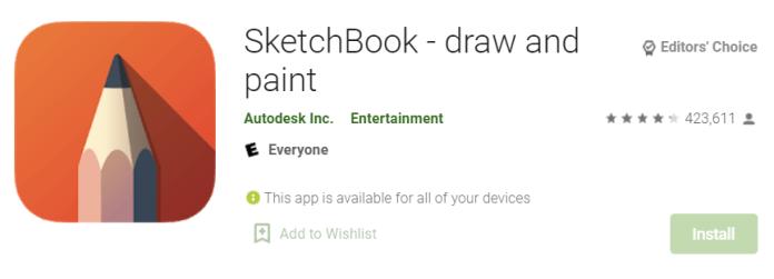 Autodesk SketchBook for Mac