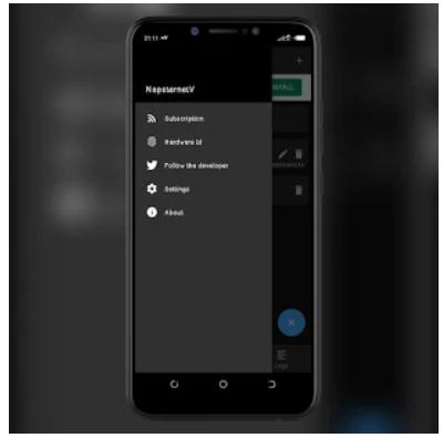 NapsternetV app on Windows