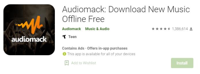 Audiomack for Mac