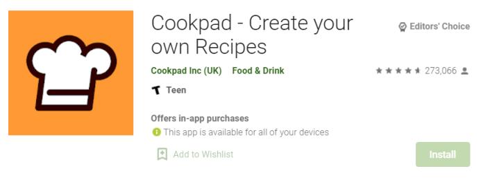 Cookpad for mac