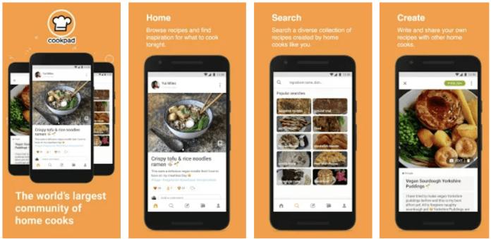 Cookpad app on Windows