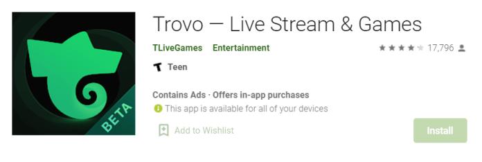 Trovo Live for Mac