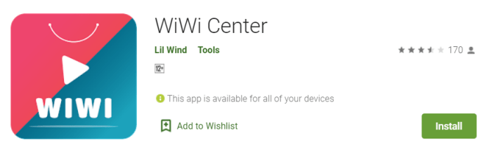 WiWi Center for Mac