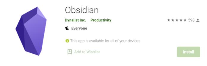 Obsidian for Mac