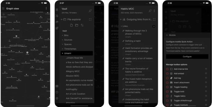 Obsidian app PC download
