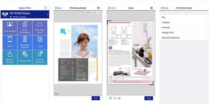 Epson iPrint app PC download