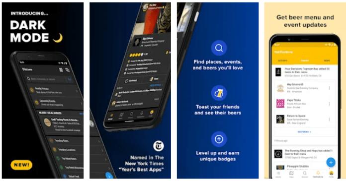 Untappd app on Windows