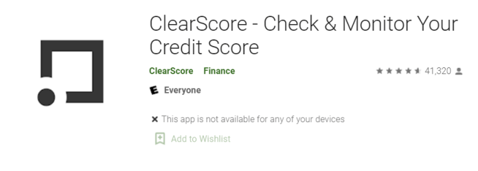 ClearScore for Mac