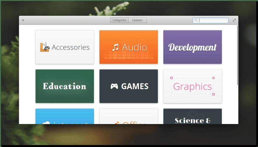 Elementary OS 0.4 Loki Software Center
